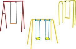 swing för barn s Arkivfoto