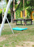Swing in a garden Royalty Free Stock Image