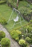 Swing in garden Stock Photography