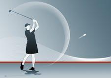 swing golfowa Fotografia Royalty Free