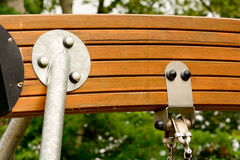 Swing mechanism support Royalty Free Stock Photos