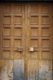 Swing old door Stock Images