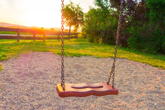 Free Swing On The Playground Royalty Free Stock Images - 95725229
