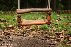 Swing in park Stock Photos