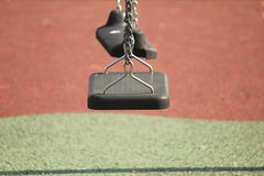 Swing in the park. A swing in the park Royalty Free Stock Photo