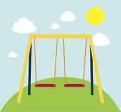 Swing park Royalty Free Stock Image