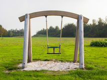 Swing in a park Stock Image