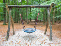 Swing in a park Royalty Free Stock Images
