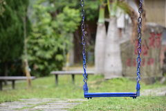 Swing in the park. Stock Images