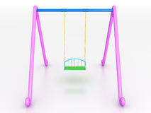 Swing of the plastic №1 Stock Photo
