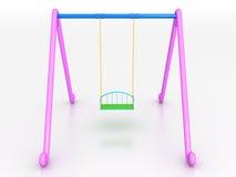 Swing of the plastic №1 Stock Photo