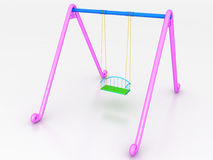 Swing of the plastic №2 Stock Image