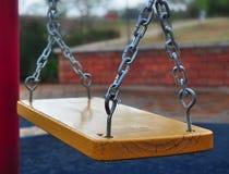 Swing on playground Royalty Free Stock Photos