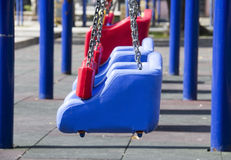 Swing in playground Royalty Free Stock Photo