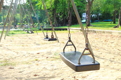 Swing in playground Royalty Free Stock Photography