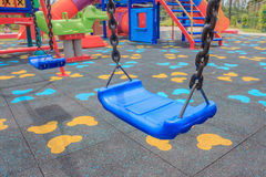 Swing Playground Royalty Free Stock Images