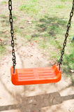 Swing in playground Royalty Free Stock Image