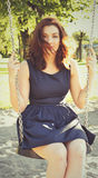 Swing portrait Stock Photo