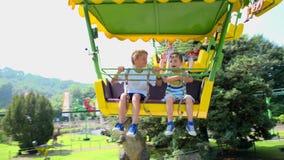 Swing ride stock video