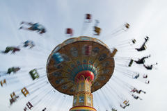 Swing ride at fair in California Royalty Free Stock Photography