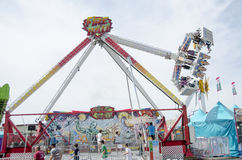 Swing ride at fair Royalty Free Stock Photo