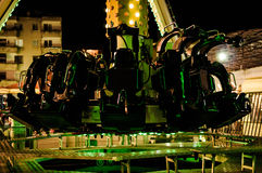 Swing Ride Pendulum Seats Stock Images