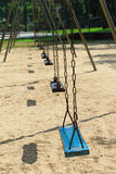 Swing seat in the park Royalty Free Stock Photo