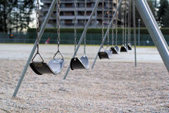 Swing set Royalty Free Stock Images