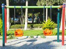 Swing Set Stock Photo