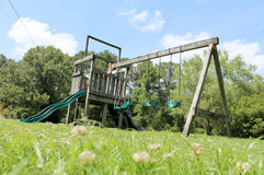 Swing set Stock Photos