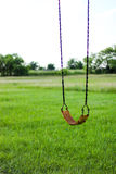 Swing set sitting still Stock Photography