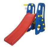 Swing and slider playground Stock Photo