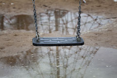 Swing slowly swinging Royalty Free Stock Photography