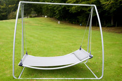 Swing Sunbed in Germany Stock Photo