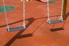Swing (teeter) royaltyfria foton