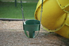 Toddler Swing Royalty Free Stock Photo