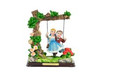 Swing toy Royalty Free Stock Photo