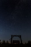 A swing under the stars Stock Photography