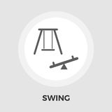 Swing vector flat icon Royalty Free Stock Photography