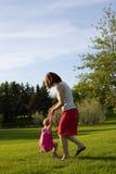Swinging Around Stock Photo