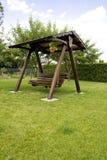Swinging bench Royalty Free Stock Image