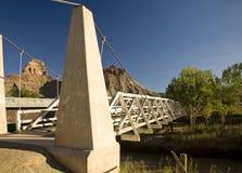 Swinging Bridge Royalty Free Stock Photography