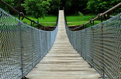 The Swinging Bridge Royalty Free Stock Image
