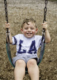 Swinging Fun Royalty Free Stock Photo