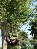 Swinging Girl Royalty Free Stock Image