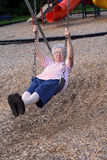 Swinging Grandmother 4 Stock Photos