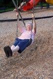 Swinging Grandmother 4 Stock Photos
