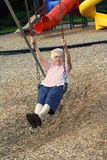 Swinging Grandmother 6 Royalty Free Stock Image