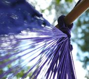 Swinging Hammock Stock Image