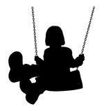 Swinging kid Royalty Free Stock Photos
